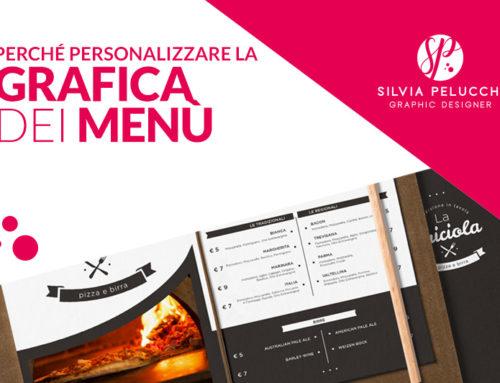 Grafica per menu di ristoranti