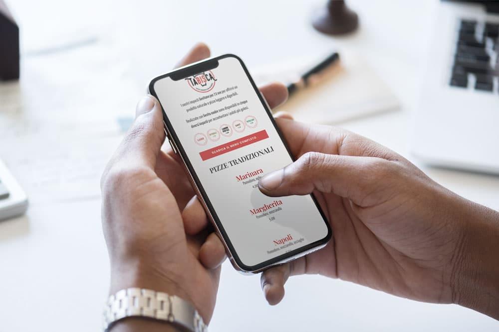 sito web ristorante pizzeria