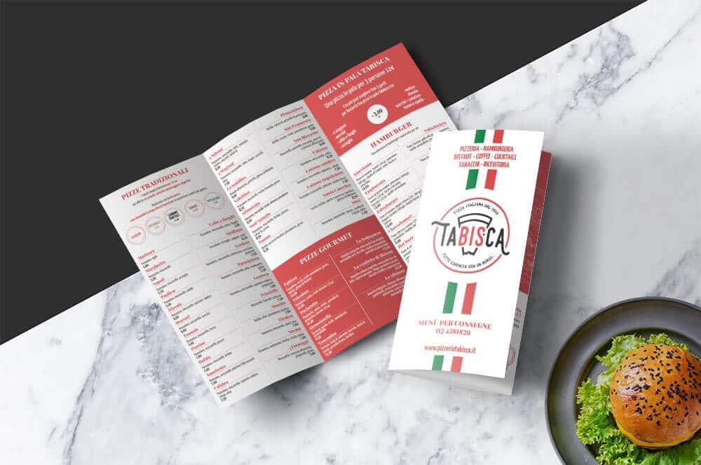 menu pizzeria asporto