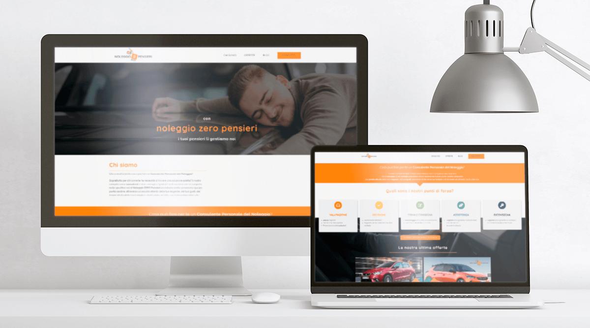 realizzazione sito web noleggio auto